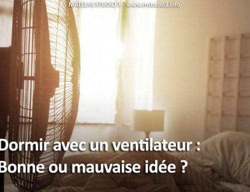 Dormir avec un ventilateur : Bonne ou mauvaise idée?